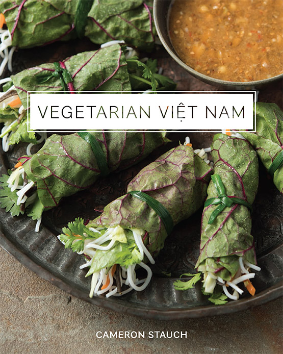 Vegetarian Vietnam Book Cover by Cameron Stauch